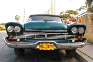Foto: amerikanischer Straßenkreuzer in Kuba