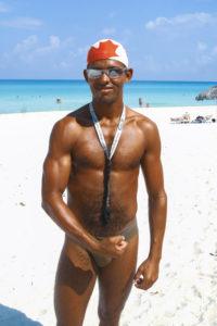 Foto: junger Mann in Kuba