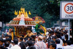Foto: Hindufest im Ruhrgebiet