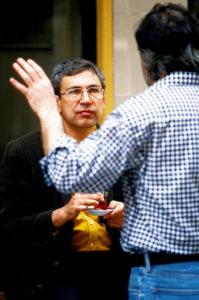 Foto: Porträt Nobelpreisträger Orhan Pamuk