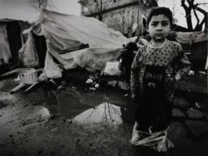 Foto: Kinder nach Erdbeben in der Türkei